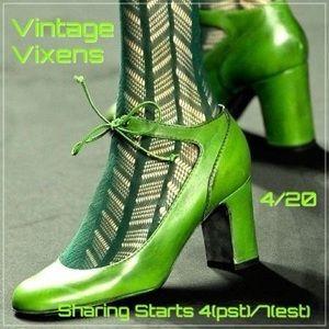TUESDAY 4/20 Vintage Vixens Sign Up Sheet